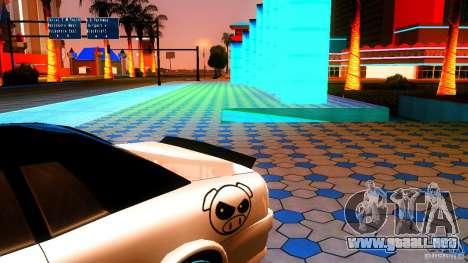 Black and White Elegy para GTA San Andreas vista posterior izquierda