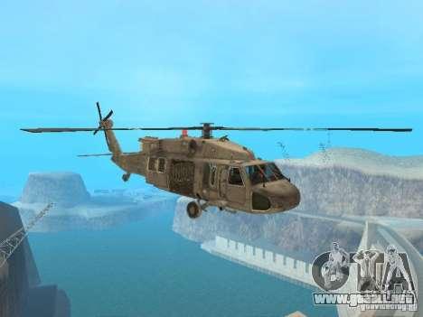 El UH-60 de COD MW3 para GTA San Andreas