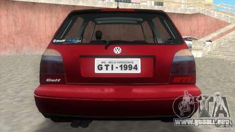 Volkswagen Golf GTI 1994 para GTA Vice City left