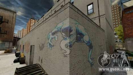 Nuevo graffiti para GTA 4 segundos de pantalla
