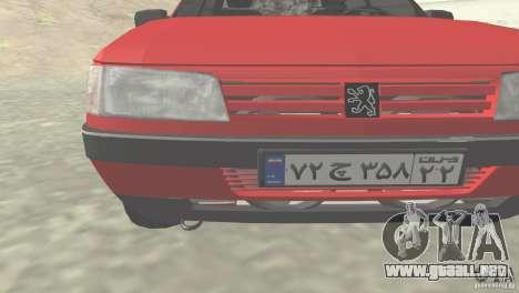 Peugeot RD 1600i para GTA San Andreas left