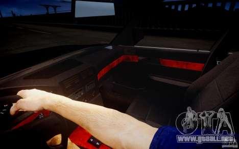 BMW 535i para GTA 4 vista superior