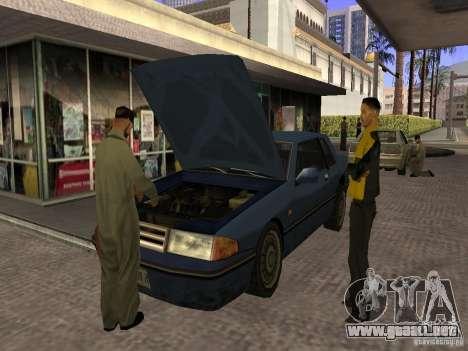 Gasolinera ocupado en Los Santos para GTA San Andreas tercera pantalla