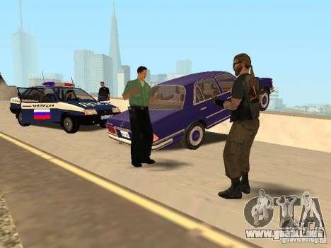 Un accidente en el puente Garver para GTA San Andreas