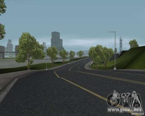 Nuevas texturas de carretera para GTA UNITED para GTA San Andreas sucesivamente de pantalla
