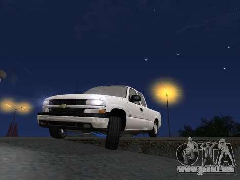 Chevorlet Silverado 2000 para vista inferior GTA San Andreas