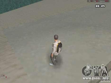 Skin Hipster v1.0 para GTA San Andreas sucesivamente de pantalla