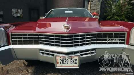 Cadillac Eldorado 1968 para GTA motor 4