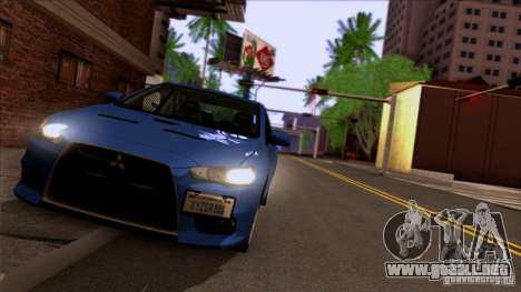 SA Beautiful Realistic Graphics 1.3 para GTA San Andreas quinta pantalla