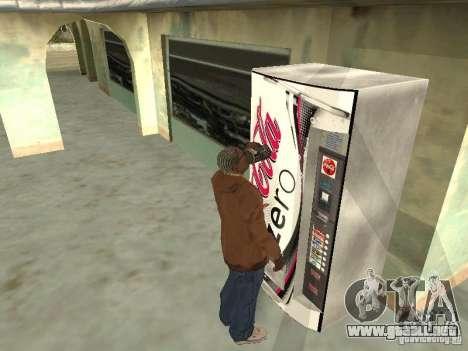 Nuevas máquinas para GTA San Andreas segunda pantalla