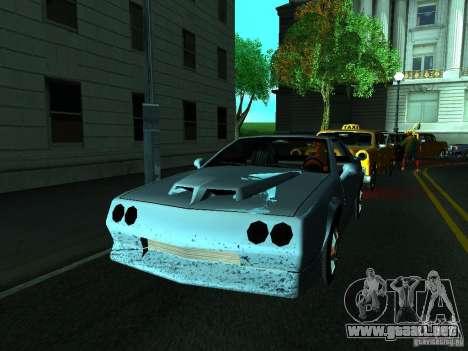 ENBSeries by gta19991999 para GTA San Andreas sucesivamente de pantalla