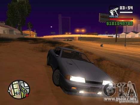 Elegía nuevo para GTA San Andreas vista hacia atrás