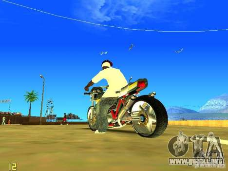 Kawasaki Z400 para la visión correcta GTA San Andreas
