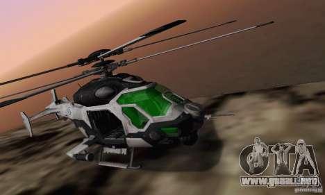 Helicóptero AH-2 Сrysis 50 C.E.L.L. para la visión correcta GTA San Andreas