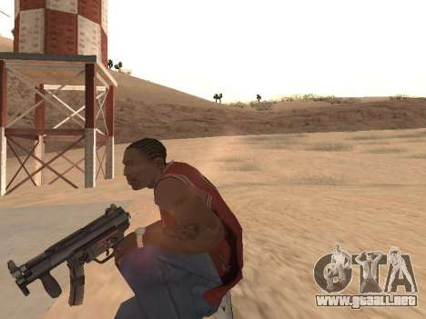 MP5K para GTA San Andreas