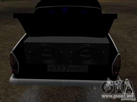 Moskvitch 408 estilo Extra para vista lateral GTA San Andreas