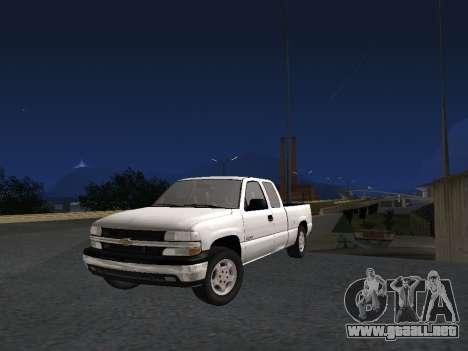 Chevorlet Silverado 2000 para GTA San Andreas