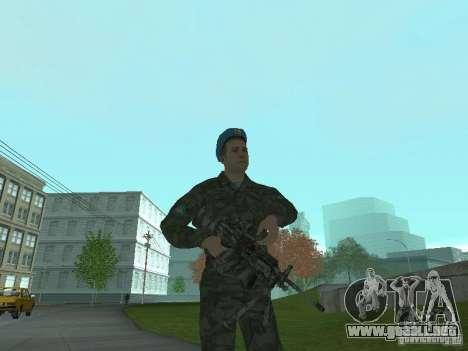 Spetsnaz VDV para GTA San Andreas sucesivamente de pantalla