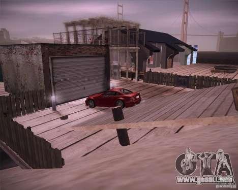 Beach House para GTA San Andreas segunda pantalla