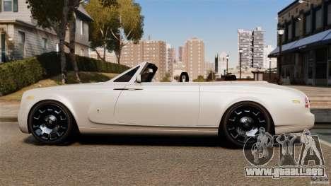 Rolls-Royce Phantom Convertible 2012 para GTA 4 left
