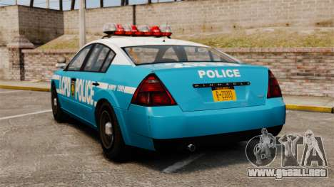 Annis Pinnacle ELS para GTA 4 Vista posterior izquierda