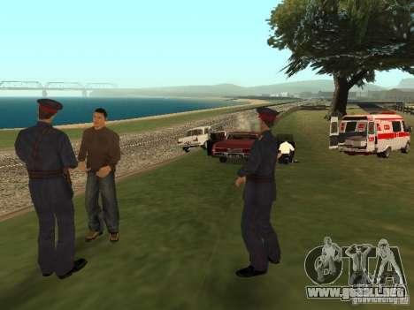 Un horrible accidente para GTA San Andreas