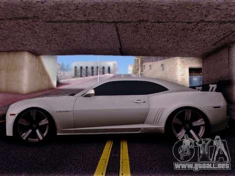 Chevrolet Camaro ZL1 SSX para GTA San Andreas left