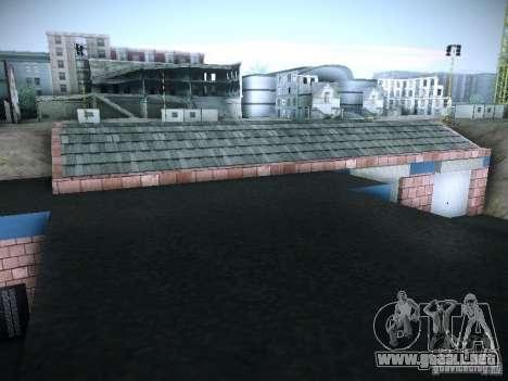 Nuevo garaje en San Fierro para GTA San Andreas sexta pantalla