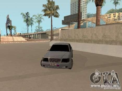 Mercedes-Benz E420 AMG para la visión correcta GTA San Andreas