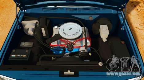 Ford Bronco 1980 para GTA 4 vista hacia atrás