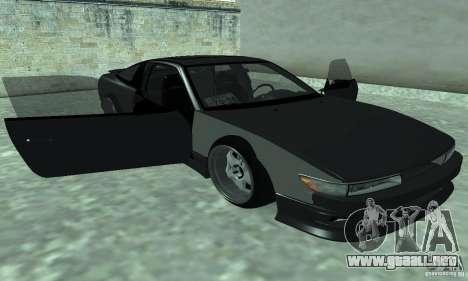 Nissan SIL80 para GTA San Andreas vista posterior izquierda