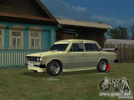 VAZ 2106 Sparco Tuning para GTA Vice City