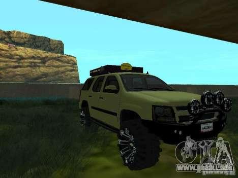 Chevrolet Tahoe Off Road para la visión correcta GTA San Andreas