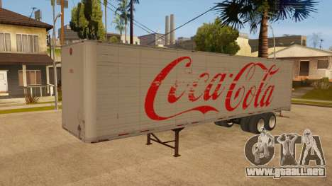 Remolque de todo-metal para visión interna GTA San Andreas