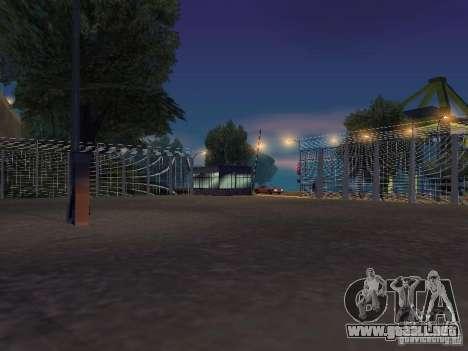 Bus Parque versión v1.2 para GTA San Andreas novena de pantalla
