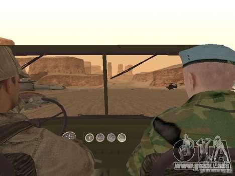 Piel de un soldado soviético para GTA San Andreas séptima pantalla