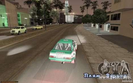 Nuevo tipo de letra para GTA San Andreas sexta pantalla