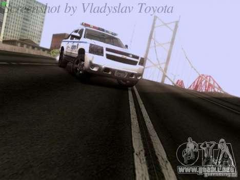 Chevrolet Avalanche 2007 para la visión correcta GTA San Andreas