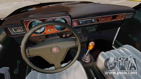 FBI Gaz-3102 para GTA 4 vista interior