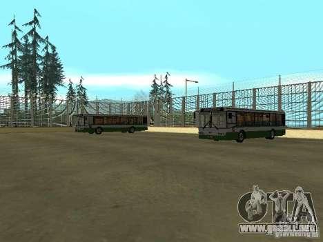 4-th autobús v1.0 para GTA San Andreas tercera pantalla