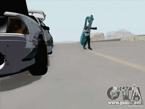 Ford Mustang Drift para la vista superior GTA San Andreas