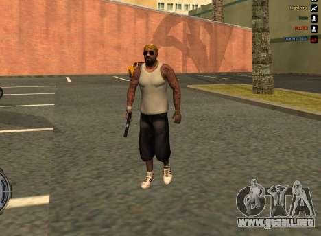 LoSV3 para GTA San Andreas segunda pantalla