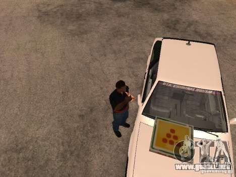 CJ hambre v. 3 final para GTA San Andreas tercera pantalla