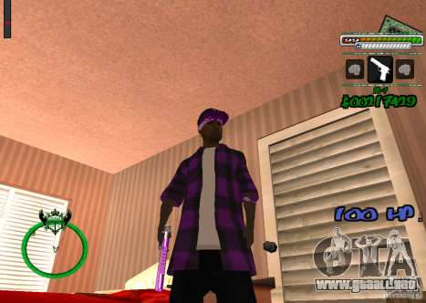 P-HUD para GTA San Andreas