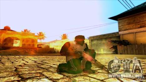 AK-47 from Far Cry 3 para GTA San Andreas segunda pantalla