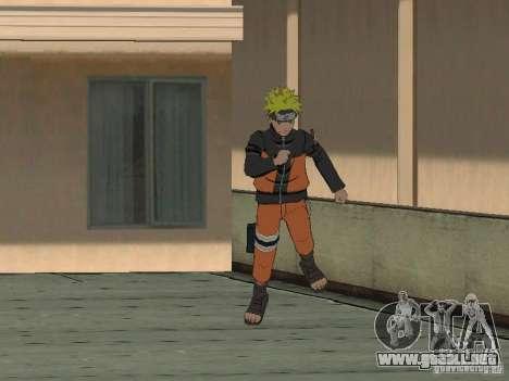 Skin Pack From Naruto para GTA San Andreas sucesivamente de pantalla
