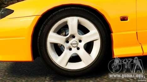 Nissan Silvia S15 Stock para GTA 4 vista lateral
