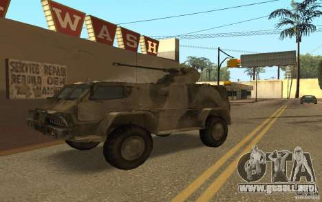GAS-3937 Vodnik para GTA San Andreas