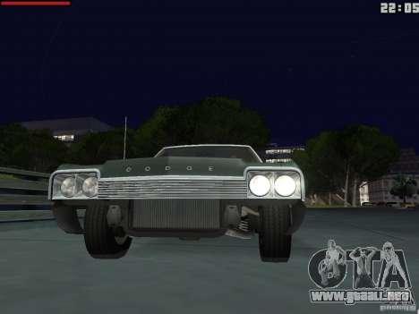 Dodge Monaco 1974 para la visión correcta GTA San Andreas