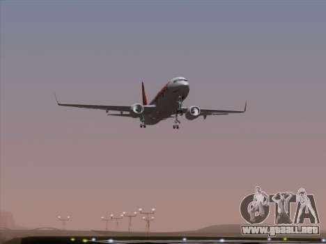 Boeing 737-8F2 Spicejet para vista inferior GTA San Andreas